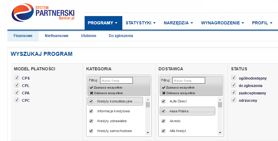 systempartnerski bankier